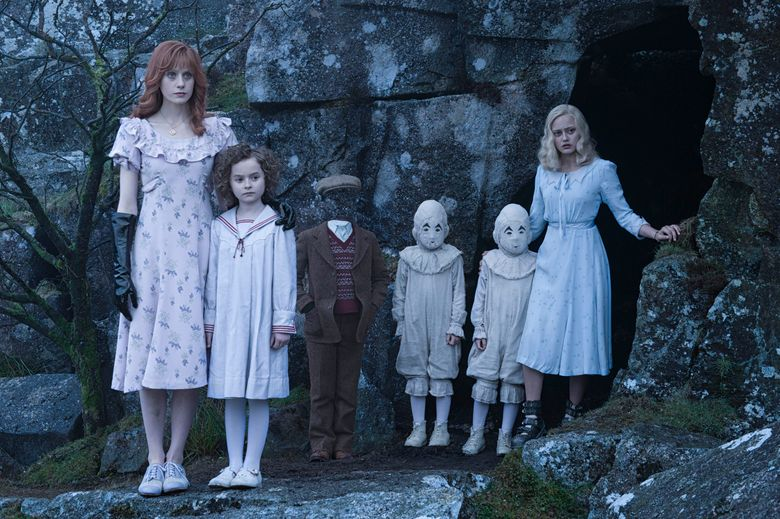 """""""Miss Peregrine's Home for Peculiar Children"""" schools kids with unusual abilities.  (Photo Credit: Jay Maidment)"""