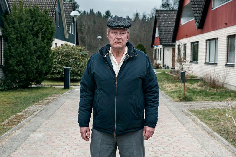 """Rolf Lassgard stands out in """"A Man Called Ove."""" (Johan Bergmark/Photographer Johan Bergmark)"""