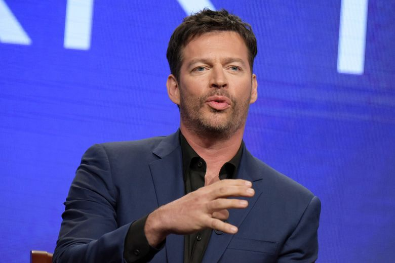 """FILE – In this Aug. 3, 2016 file photo, Harry Connick Jr. participates in the """"Harry"""" panel during the NBC Television Critics Association summer press tour in Beverly Hills, Calif. Connick's show debuts Monday, Sept. 12, with Sandra Bullock as the first guest. Amy Adams, Renee Zellweger and Terrence Howard are all scheduled for the first week, along with a few all-star cameos. (Photo by Richard Shotwell/Invision/AP, File)"""