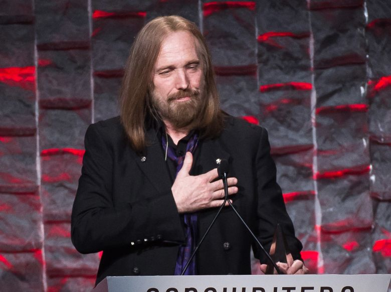 FILE – In this June 9, 2016 file photo, Tom Petty attends the 47th Annual Songwriters Hall of Fame Induction Ceremony and Awards Gala in New York. Petty will be honored as the MusiCares Person of the Year next year days before the Grammy Awards. The Recording Academy announced Wednesday, Sept. 28, that Petty will receive the prestigious honor in Los Angeles on Feb. 10, 2017. (Photo by Charles Sykes/Invision/AP, File)