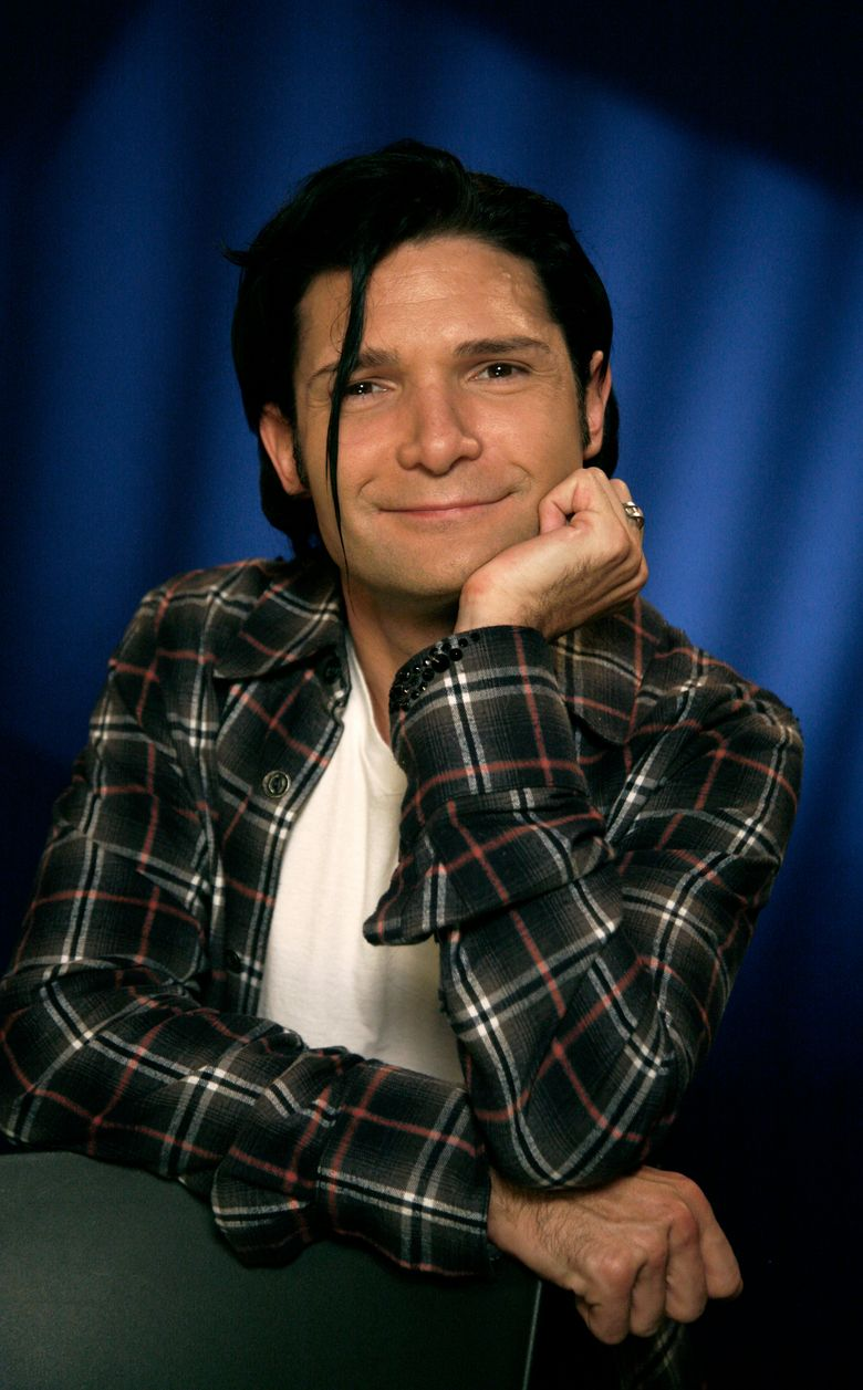 """FILE – In this Oct. 8, 2010, file photo, Corey Feldman poses for a portrait in New York. Pink has tweeted a message of support for Feldman after the former actor's performance on the """"Today"""" show, Friday, Sept. 16, 2016, was widely mocked. (AP Photo/Jeff Christensen, File)"""
