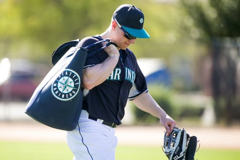 Tyler O'Neill will likely get an invitation to the major league spring training camp in 2017 after a big season in Class AA Jackson.  (Bettina Hansen/The Seattle Times)