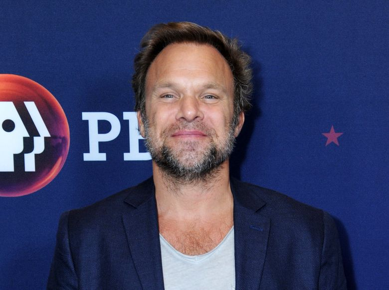 """FILE – In this July 29, 2016 file photo, Norbert Leo Butz poses for photos during the """"Mercy Street"""" season two portion of the PBS Television Critics Association summer press tour in Beverly Hills, Calif. Butz has put together one of the ambitious cabaret shows in years and a new CD based on it, """"Girls, Girls, Girls,"""" which retells the stories of Greek goddesses and matches them with a contemporary song. (Photo by Richard Shotwell/Invision/AP, File)"""