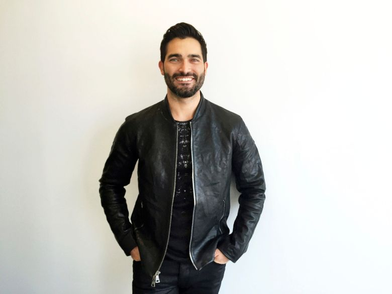 """In this Oct. 6, 2016 photo, actor Tyler Hoechlin poses after an interview in New York to discuss his upcoming role as Superman in the CW series, """"Supergirl."""" (AP Photo/Alicia Rancilio)"""