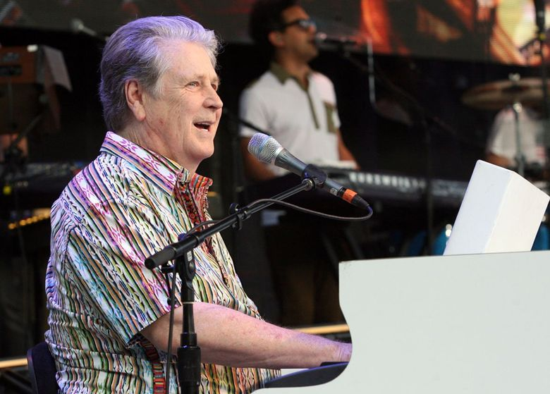 Brian Wilson performs at Seattle's Paramount Theatre last weekend. Tickets go on sale Friday for the Beach Boys founding member's  return to the Paramount next April.