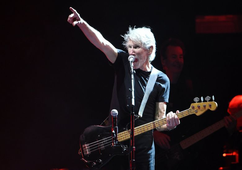 Roger Waters performs on day 3 of the 2016 Desert Trip music festival at Empire Polo Field on Sunday, Oct. 9, 2016, in Indio, Calif. (Photo by Chris Pizzello/Invision/AP) CACP122  (Chris Pizzello / Chris Pizzello/Invision/AP)