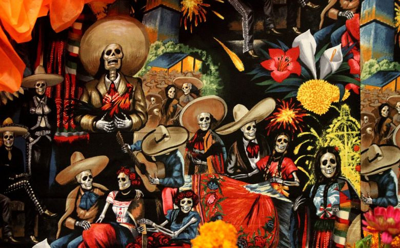 Dia de Muertos is a day to honor departed ancestors and loved ones.   (Alan Berner / The Seattle Times, 2014)
