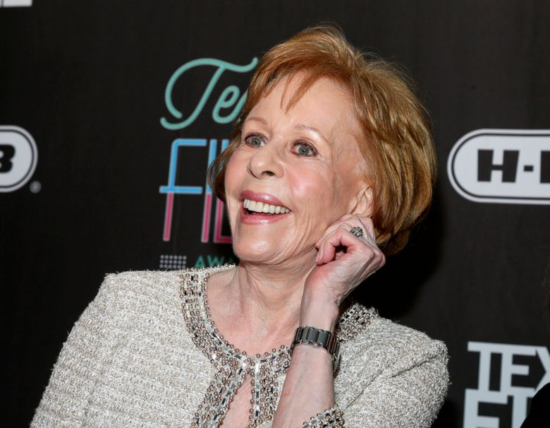 """FILE – In this March 10, 2016 file photo, comedian-actress Carol Burnett appears at the 2016 Texas Film Awards at Austin Studios in Austin, Texas. Publicist Lewis Kay and ABC have confirmed a project that will involve Burnett in a so-called """"put pilot"""" deal for a multicamera sitcom. (Photo by Jack Plunkett/Invision/AP, File)"""