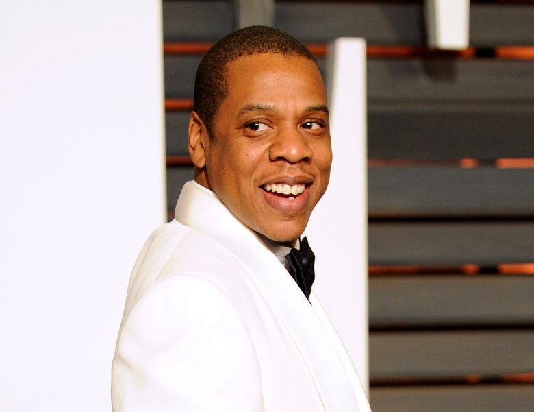 FILE – In this Feb. 22, 2015 file photo, Jay Z arrives at the 2015 Vanity Fair Oscar Party in Beverly Hills, Calif.  Jay Z, one of contemporary music's most celebrated lyricists and entertainers, is one of the nominees for the 2017 Songwriters Hall of Fame, and if inducted he could become the first rapper to enter the prestigious music organization. The Songwriters Hall gave The Associated Press the list of nominees Thursday, Oct. 20, 2016 a day ahead of its official announcement. (Photo by Evan Agostini/Invision/AP, File)