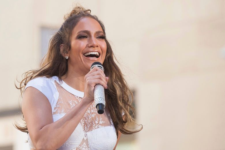 """FILE – In this July 11, 2016 file photo, Jennifer Lopez performs on NBC's """"Today"""" show at Rockefeller Plaza in New York.    NBC says the actress-singer will headline its 2017 live holiday musical. She will play Rosie, the role originated on Broadway in 1960 by Chita Rivera.  """"Bye Bye Birdie Live!"""" airs a year from now as the next in NBC's annual live-musical tradition. """"Hairspray Live!,"""" starring newcomer Maddie Baillio, is set to air Dec. 7.  (Photo by Charles Sykes/Invision/AP)"""