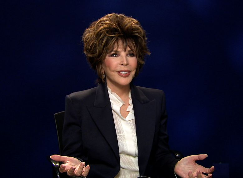 """In this Oct. 19, 2016 image taken from video, songwriter Carole Bayer Sager appears during an interview in New York about her new memoir, """"They're Playing Our Song."""" (AP Photo)"""