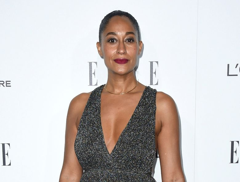 """FILe – In this Oct. 24, 2016 file photo, Tracee Ellis Ross arrives at the 23rd annual ELLE Women in Hollywood Awards in Los Angeles. Ross will appear with Rosie O'Donnell, Carol Kane, Lucy DeVito and Natasha Lyonne in a one-night only benefit performance of """"Love, Loss, and What I Wore"""" to help the 92nd Street Y on Feb. 5. (Photo by Jordan Strauss/Invision/AP, File)"""