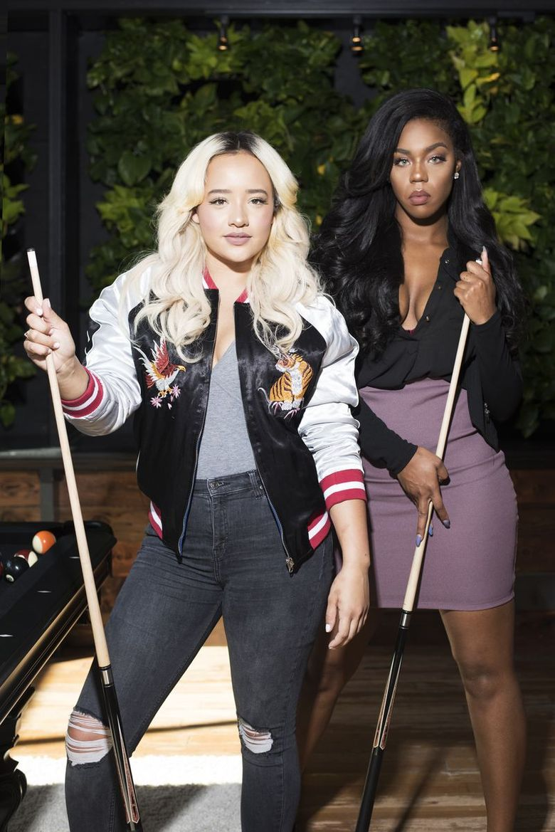 """Tyara and Kimberly are reunited on the """"Real World Seattle: Bad Blood."""" (Courtesy of MTV)"""