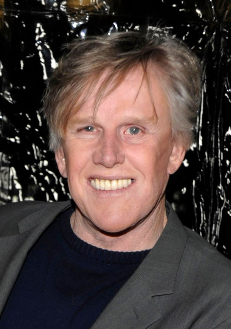 """FILE – In this Dec. 8, 2009 file photo, actor Gary Busey arrives at the premiere of the feature film """"Crazy Heart"""" in Beverly Hills, Calif.  Busey will make his New York stage debut next month in the off-Broadway show """"Perfect Crime,"""" playing a serial killer in the cast of the longest-running play in city history. He will play Lionel McAuley, a charismatic serial killer starting Nov. 21, 2016 at The Theater Center near Times Square. (AP Photo/Dan Steinberg, file)"""