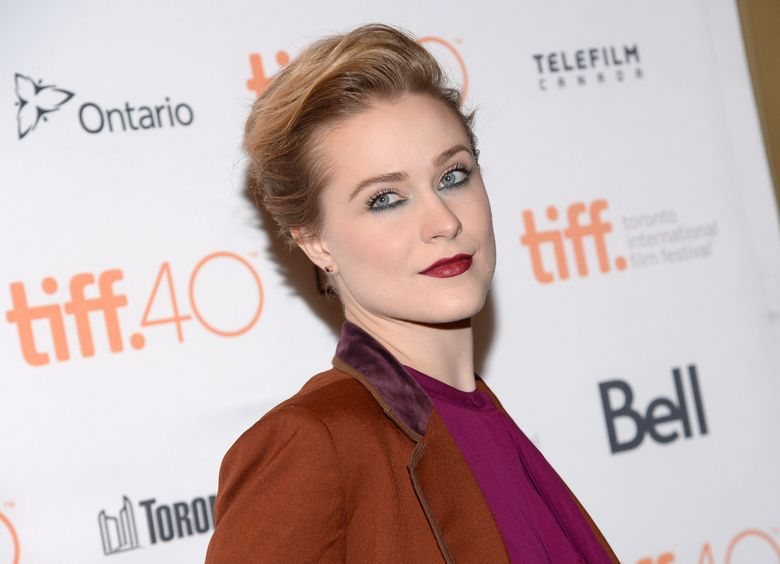 """FILE – In this Sept. 12, 2015, file photo, Evan Rachel Wood attends a premiere for """"Into the Forest"""" at the Toronto International Film Festival at in Toronto. Wood has revealed that she has been raped twice. The revelation comes in a letter to Rolling Stone that Wood made public on Twitter Monday, Nov. 29, 2016. (Photo by Evan Agostini/Invision/AP, File)"""