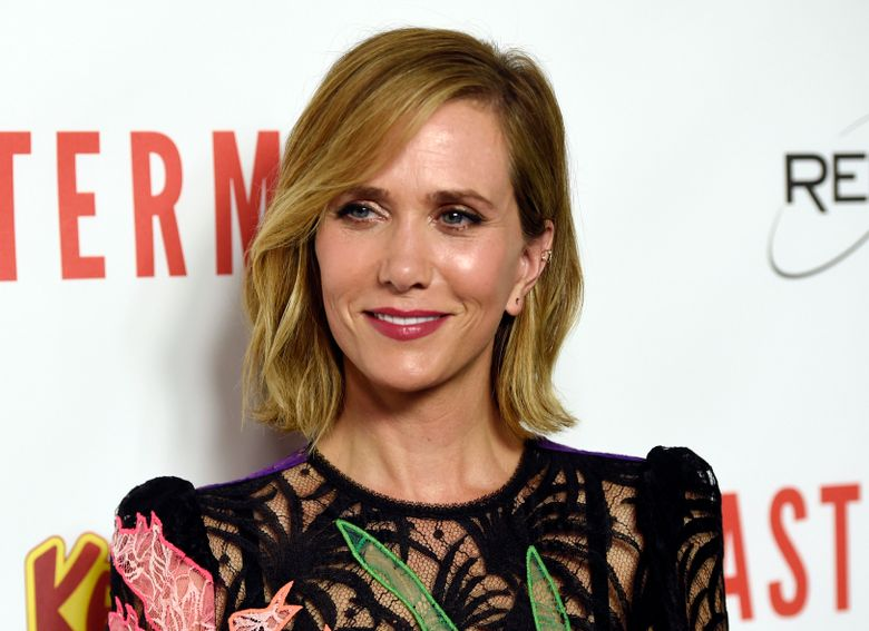 """FILE – In this Sept. 26, 2016 file photo, Kristen Wiig, a cast member in """"Masterminds,"""" poses at the premiere of the film in Los Angeles. Wiig will guest host """"Saturday Night Live"""" on Nov. 19. (Photo by Chris Pizzello/Invision/AP, File)"""