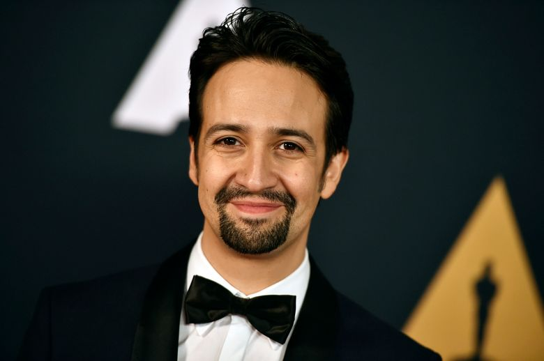 """FILE – In this Nov. 12, 2016 file photo, Lin-Manuel Miranda arrives at the 2016 Governors Awards in Los Angeles. Lionsgate has partnered best-selling author Pat Rothfuss with writer-composer Miranda for an ambitious TV and film adaptation of the fantasy trilogy, """"The Kingkiller Chronicles."""" (Photo by Jordan Strauss/Invision/AP, File)"""