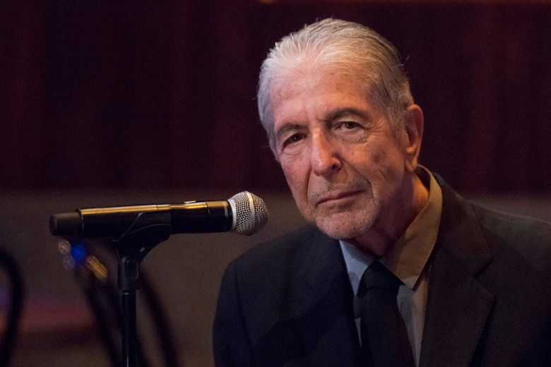 """FILE – In this Thursday, Sept 18, 2014, file photo, Leonard Cohen attends a listening party for his new album """"Popular Problems"""" in New York. The late Cohen's epic cult classic `Hallelujah' has been covered more than 300 times since he first recorded it in 1984. (Photo by Charles Sykes/Invision/AP, File)"""