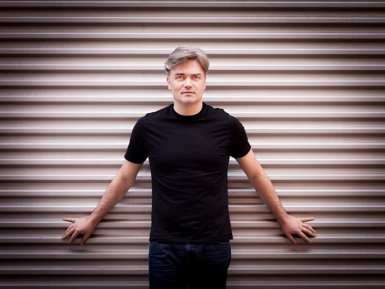"""Edward Gardner, conductor of the Bergen Philharmonic Orchestra in Norway, will lead the Seattle Symphony and the chorale in """"The Dream of Gerontius,"""" a 100-minute oratorio that is a pillar of the English chorus tradition. """"I am a massive advocate for the piece,"""" he said.  (Photographer: Benjamin Ealovega)"""