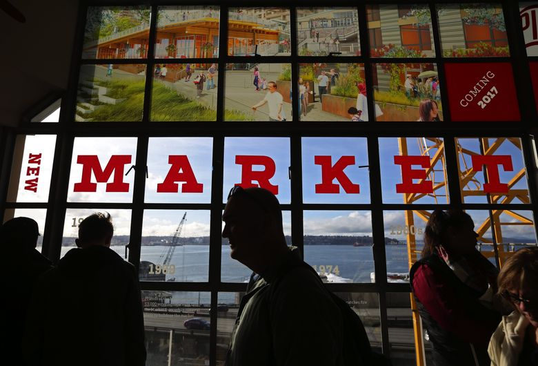"""Pike Place Market Historical District preserves """"the soul of Seattle."""" (Ken Lambert/The Seattle Times)"""