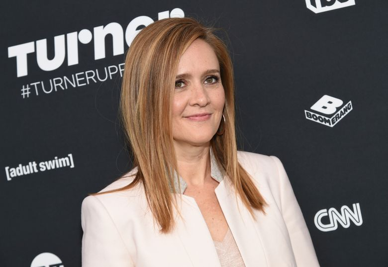 """FILE – In this May 18, 2016 file photo, Samantha Bee attends the Turner Network 2016 Upfronts in New York. TBS announced on Wednesday, Nov. 16, that """"Full Frontal,"""" the weekly comic series starring Bee, will be back for its second season starting January 11. But instead of broadcasting Monday nights, the show will switch to Wednesdays at 10:30 p.m. TBS said that should make the production process easier. (Photo by Evan Agostini/Invision/AP, File)"""