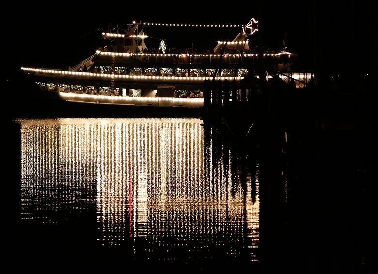 Argosy Cruises' Christmas Ships season kicks off Nov. 25. (Sy Bean/The Seattle Times)