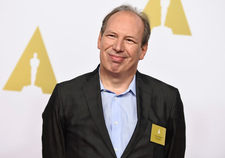 FILE – In this Feb. 2, 2015, file photo, Hans Zimmer arrives at the 87th Academy Awards nominees luncheon at the Beverly Hilton Hotel in Beverly Hills, Calif. Zimmer is hitting the road again with his career-spanning concert tour, which he describes as a little bit cinematic and a little bit rock 'n' roll. (Photo by Jordan Strauss/Invision/AP, File)