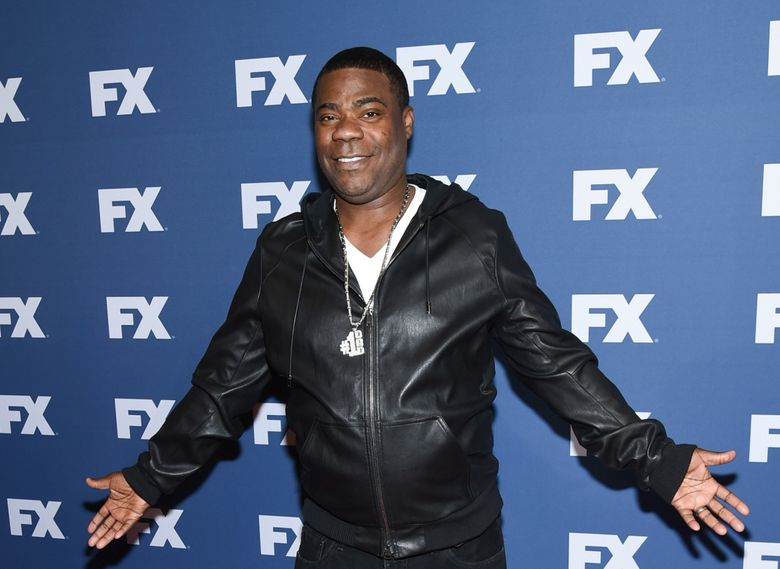 """FILE – In this March 30, 2016, file photo, Tracy Morgan attends FX Networks upfront premiere of """"The People v. O.J. Simpson: American Crime Story"""" at the AMC Empire 25, in New York. Former """"30 Rock"""" and """"Saturday Night Live"""" star Morgan will be among an all-star group of comedians for a one-day benefit for children facing obstacles at The Theater at Madison Square Garden on March 28, 2017. (Photo by Evan Agostini/Invision/AP, File)"""