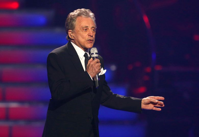 """FILE – In this May 16, 2013 file photo, Frankie Valli performs at the """"American Idol"""" finale at the Nokia Theatre at L.A. Live in Los Angeles. The Tony Award-winning musical based on Valli and the Four Seasons' career will hold its final performance on Jan. 15, 2016, after 4,642 shows at the August Wilson Theatre. It's the 12th-longest running show in Broadway history. (Photo by Matt Sayles/Invision/AP, File)"""