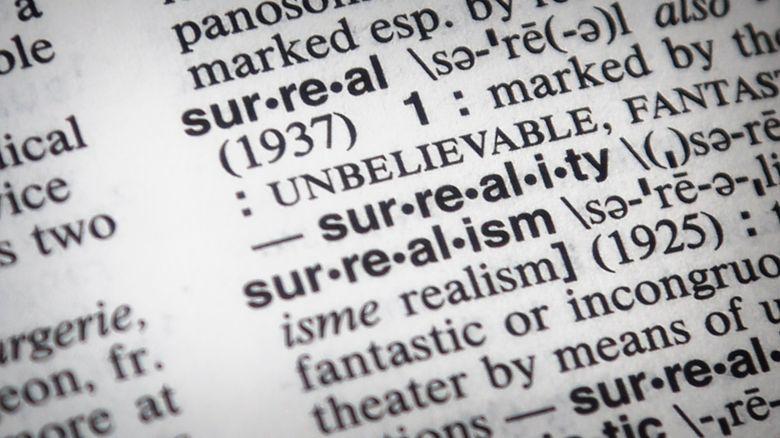 """Surreal"" is Merriam-Webster's word of 2016 based on spikes in lookups. (Bebeto Matthews / The Associated Press)"