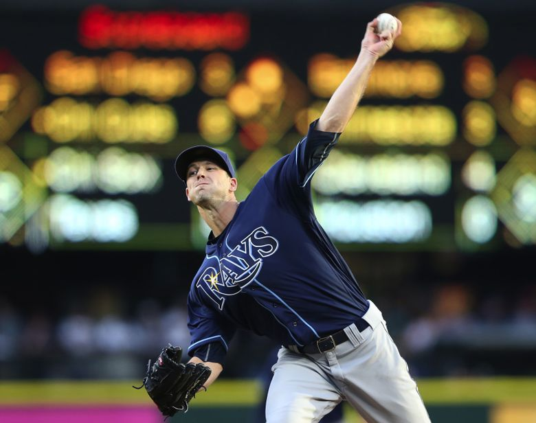 A source said the Mariners tried to work out a deal for Tampa Bay lefty Drew Smyly. (Ken Lambert/The Seattle Times)