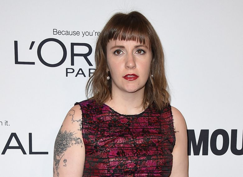 """FILE – In this Monday, Nov. 14, 2016, file photo, Lena Dunham arrives at the Glamour Women of the Year Awards at NeueHouse Hollywood in Los Angeles. Dunham apologized Tuesday, Dec. 20, 2016, for saying on her """"Women of the Hour"""" podcast that that she wished she had an abortion. (Photo by Jordan Strauss/Invision/AP, File)"""