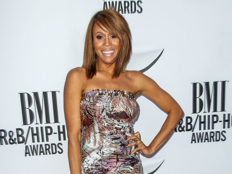 """FILE – In this Aug. 28, 2015 file photo, Deborah Cox attends the 2015 BMI R&B/Hip-Hop Awards in Beverly Hills, Calif.    Cox says she's honoring Whitney Houston's memory by starring in a touring musical based on """"The Bodyguard,"""" the Oscar-nominated 1992 romantic thriller about a diva who falls for a former Secret Service agent.(Photo by Paul A. Hebert/Invision/AP, File)"""
