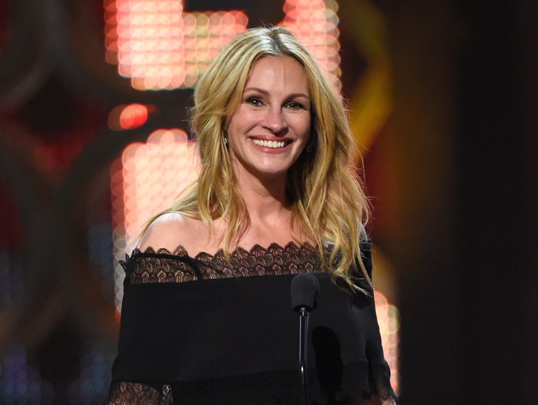 """Julia  Roberts would be taking on her first regular TV role in a miniseries adaptation of Maria Semple's novel, """"Today Will Be Different."""" (Photo by Chris Pizzello/Invision/AP, File)"""