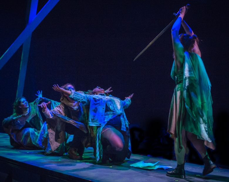 """In """"The Untitled Play About Art School,"""" ancient Greece and modern-day college life become intertwined."""