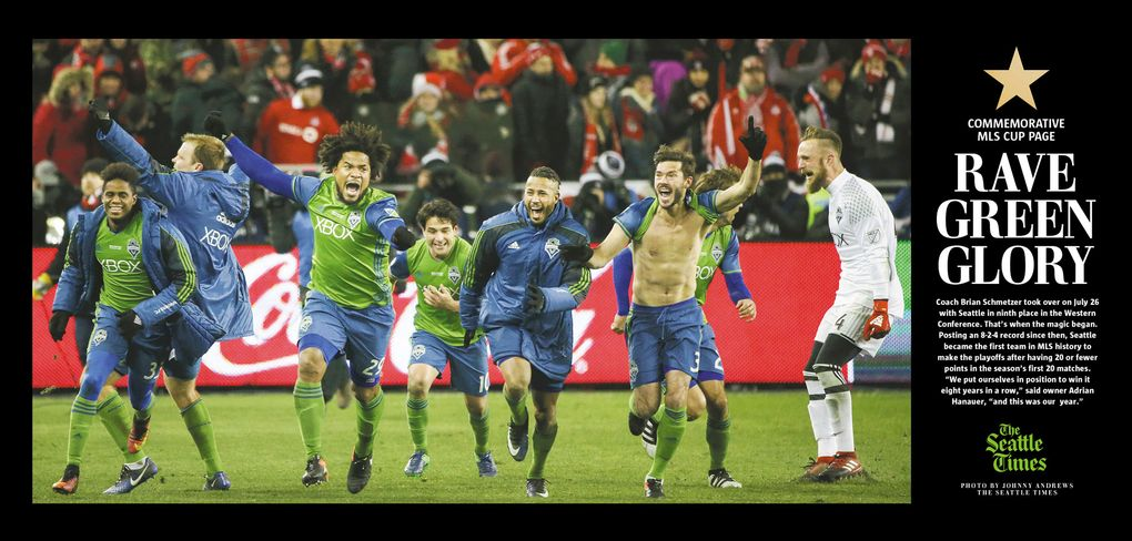 (Photo: Johnny Andrews, Card: Rich Boudet / The Seattle Times)