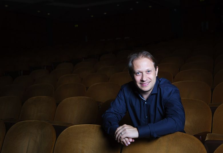 Ludovic Morlot will lead the Seattle Symphony and Chorale, together with the Northwest Boychoir and four vocal soloists, in Beethoven's Symphony No. 9. (Lindsey Wasson/The Seattle Times)