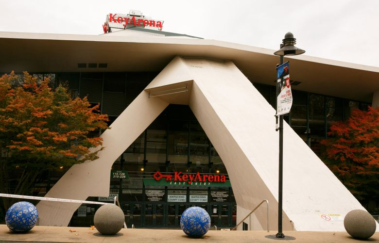 KeyArena in Seattle is photographed Thursday, October 27, 2016. LO (Erika Schultz/The Seattle Times)
