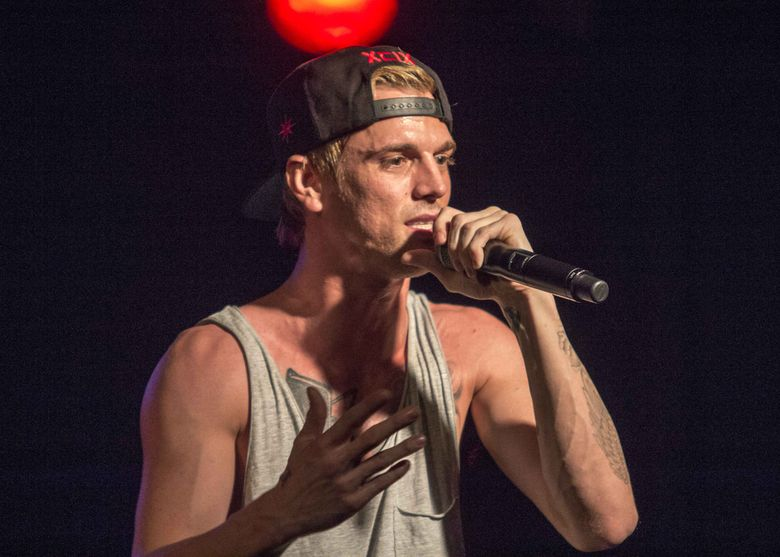 Aaron Carter is all grown up now and back on the music scene. (Katie Darby/Katie Darby/Invision/AP)