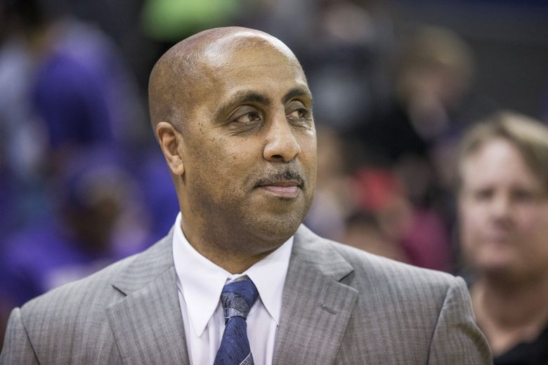 Lorenzo Romar is out after 15 seasons. (Dean Rutz / The Seattle Times)