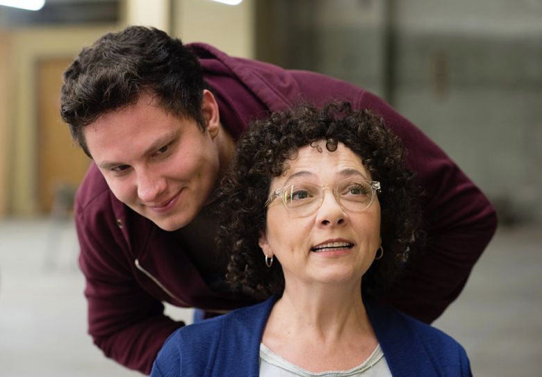 Seattle filmmaker Wes Hurley and his mother, the stars of the short documentary 'Little Potato,' which just won the Short Documentary award at South by Southwest. (Courtesy of Bronwen Houck)