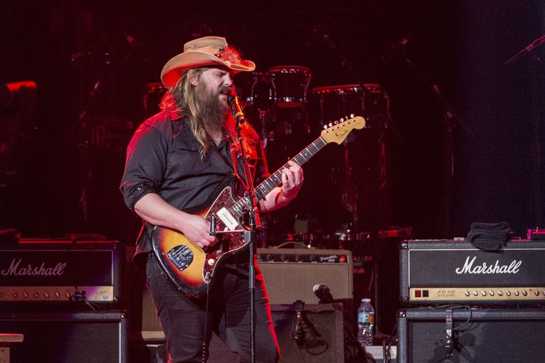 Chris Stapleton had the No. 1 country album in 2016. (Amy Harris/Amy Harris/Invision/AP)