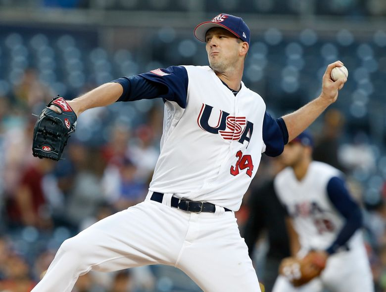 Drew Smyly pitched well in the World Baseball Classic earlier this month. (Alex Gallardo/The Associated Press)
