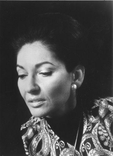 Soprano Maria Callas (handout)