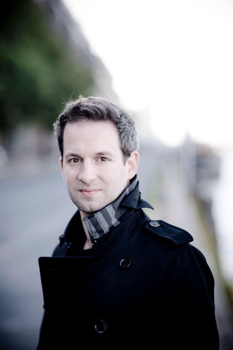 Pianist Bertrand Chamayou