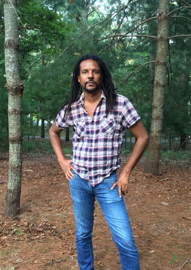 """Colson Whitehead, who won the 2017 Pulitzer Prize for his novel """"Underground Railroad,"""" will visit as part of the Seattle Arts & Lectures series. (MADELINE WHITEHEAD / HANDOUT/EPA)"""
