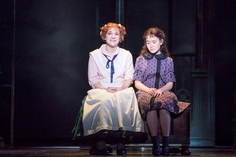 "Daisy Eagan left, as Martha and Bea Corley as Mary Lennox in ""The Secret Garden."" (Tracy Martin) (Tracy Martin/www.tracymartinphotography.com)"