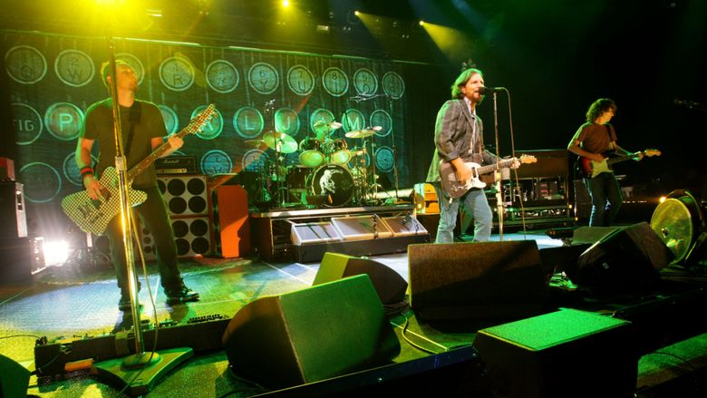 Pearl Jam will be inducted into the Rock & Roll Hall of Fame on Friday, April 7.  (Jim Bates/The Seattle Times)