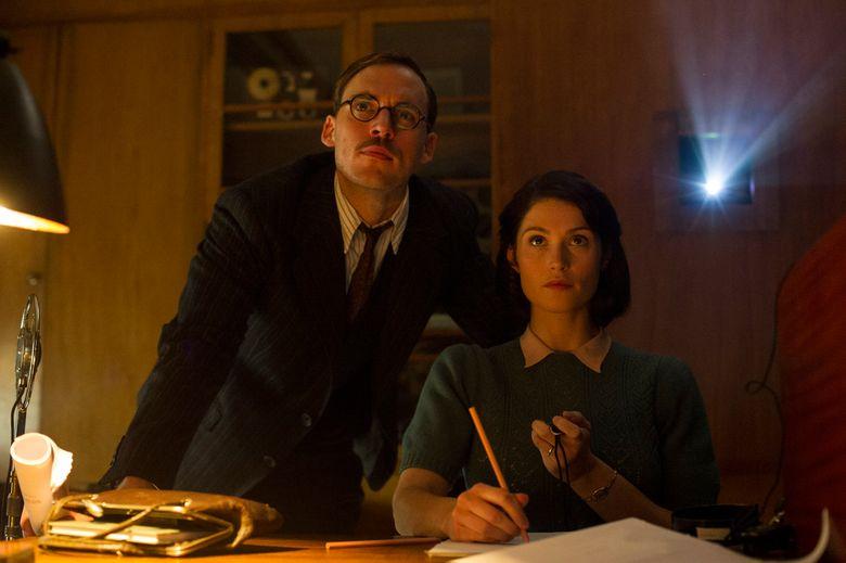 "Sam Clafin and Gemma Arterton play screenwriters working on a movie in ""Their Finest."" (Nicola Dove/Nicola Dove)"
