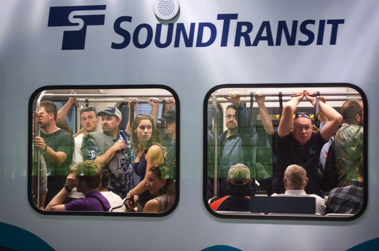 On July 4, Metro will deploy  additional buses between 10:30 p.m. and midnight on routes serving Seattle Center, Gas Works Park, downtown and light-rail stations. And light rail will run until 2 a.m. on Wednesday, July 5, an hour later than normal.  (Lindsey Wasson/The Seattle Times, file)